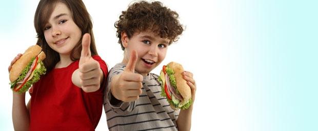 Gesundes Frühstück mit Abwechslung für muntere Kids